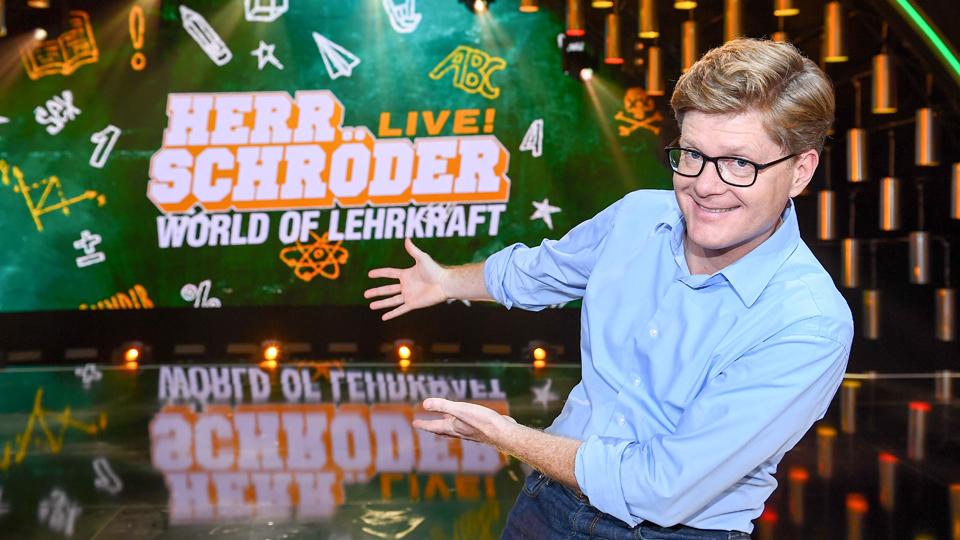 HERR SCHRÖDER LIVE! WORLD OF LEHRKRAFT