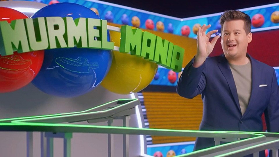 "CHRIS TALL PRÄSENTIERT ""MURMEL MANIA"" BEI RTL"